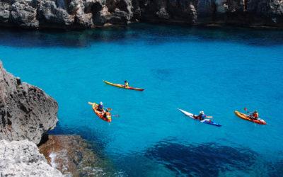 Ruta en Kayak por Menorca