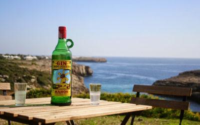 Gin Xoriguer und Liköre aus Biniarbolla