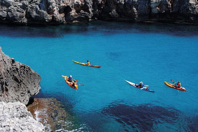 Kayak Menorca - Villas Etnia