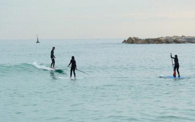 07. Paddle surf