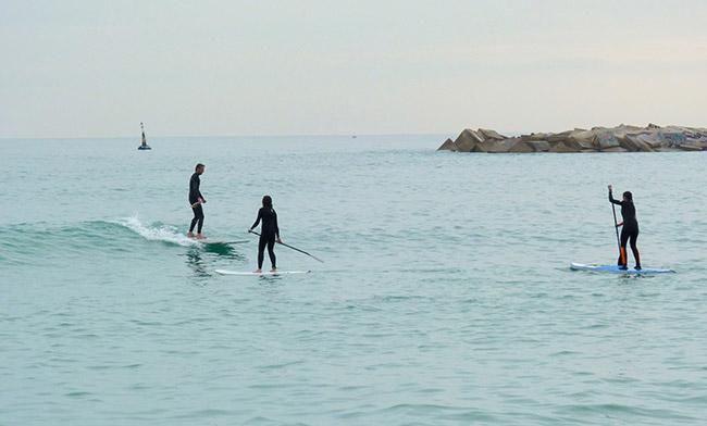 Paddle surf Menorca - Villas Etnia