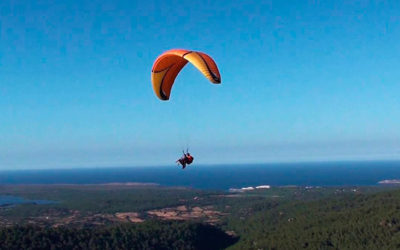10. Paragliding