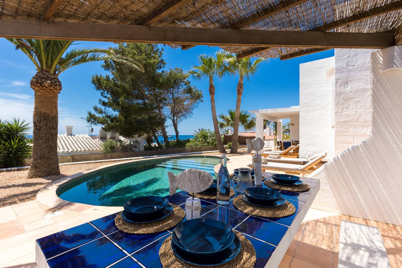 Villas Etnia Menorca - barbecue