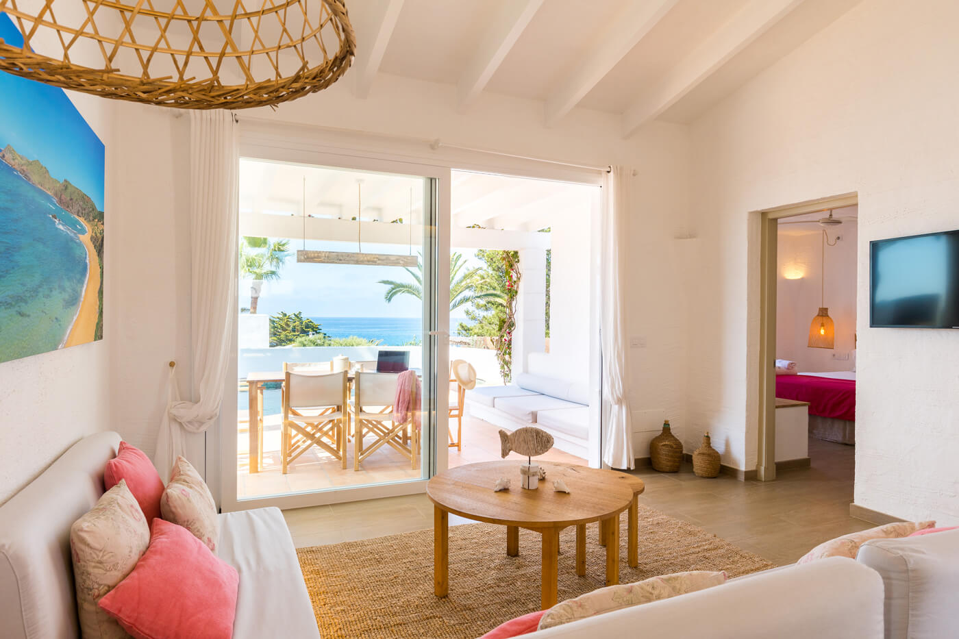 Villas Etnia Menorca - living room