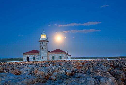 Leuchttürme in Menorca