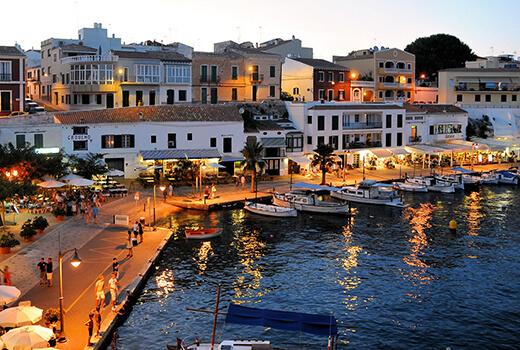 Hafen von Mahón (Menorca)