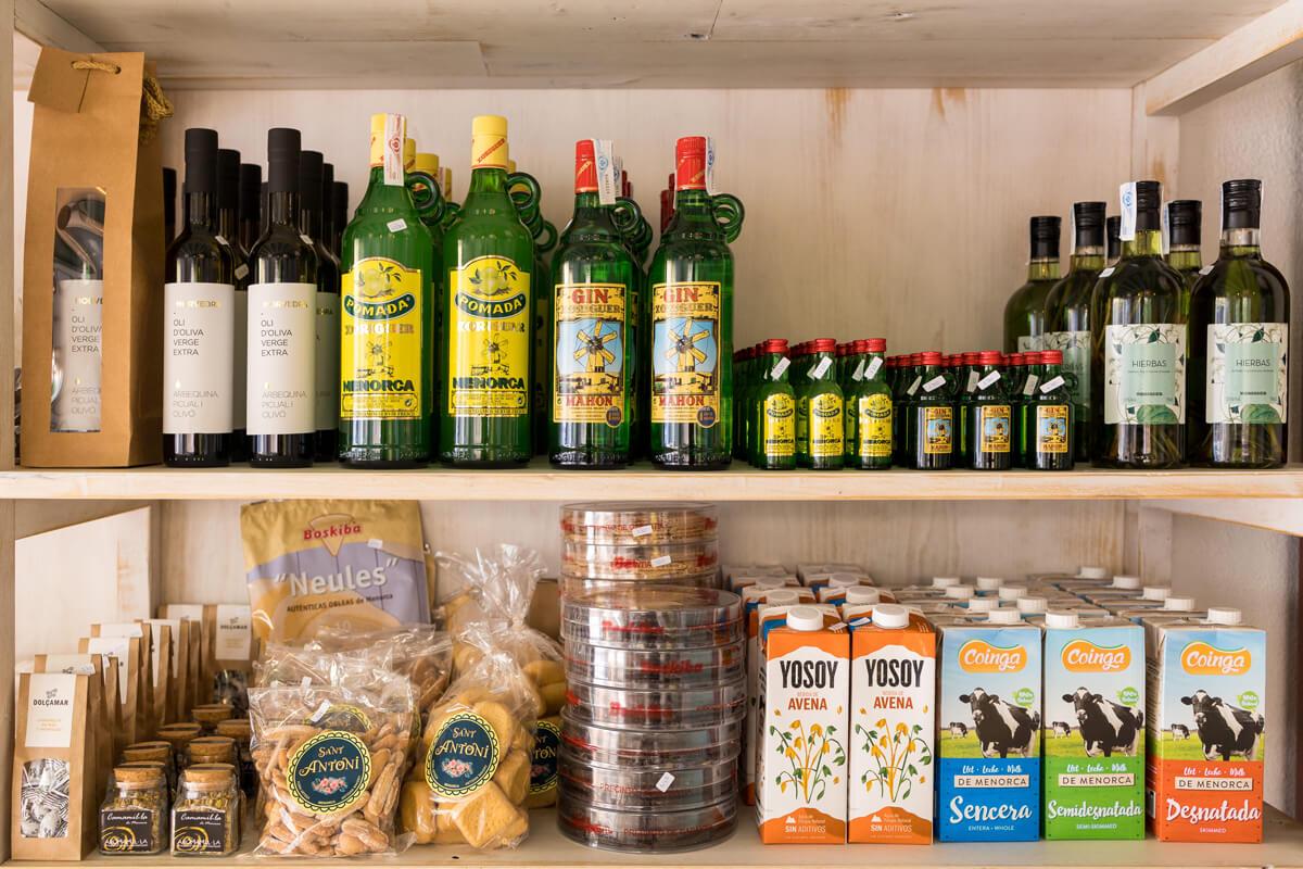 Tienda Villas Etnia (productos de Menorca)